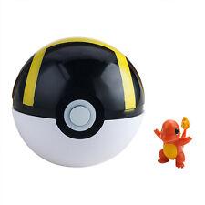 1Pcs Black Pokeball Cosplay Plastic Pop-up Ultra Ball Game Toys Pokemon Figure