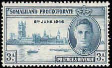 Scott # 109 - 1946  - ' Peace Issue ', King George VI & Parliament Buildings