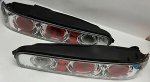 Cool R & L set of Chrome 2 door Acura Integra 1994-2001 replacement tail lights