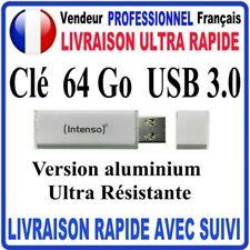 Clé USB 64 Go USB 3.0 ULTRA RESISTANTE ULTRA LINE ALUMINIUM FINE ET COMPACTE