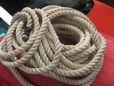 Seil, Länge 21 Meter, 20 mm Durchmesser, Kunstfaser, guter Zustand, genutzt