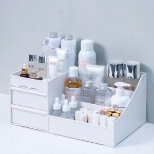 Organizer Storage Makeup Box Cosmetic Jewelry Case Drawer Holder US Makeup Drawe