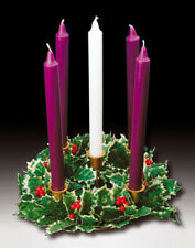Church Advent Candle Wreath, Anglican, Catholic ideal for Advent and Christmas