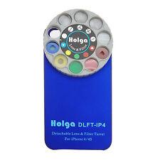 Holga Iphone 4 / 4s Funda dlft-ip4 Desmontable Auxiliar Lente torreta | Reino Unido Stock