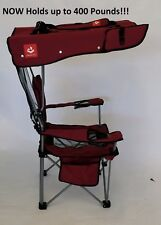NEW, RED With BLACK TRIM Renetto 3.5 HEAVY DUTY, Original Canopy, mesh insert