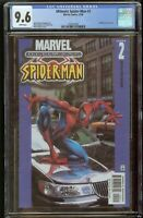 Ultimate Spider-Man #2 CGC 9.4 White Pages 2000 Alternate Cover 1265519001