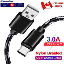 USB Type C Cable USB-C 3.1 Sync Charger Charging for Samsung S10 S9 S8 LG G6 G7