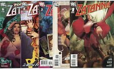 Zatanna #1 - 16  Complete Run  avg. NM 9.4 white pages  DC  2010  No Reserve