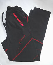 Lambda Black & Red Size S/M Thermal Athletic Pants Womens New with Tags