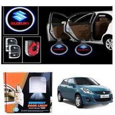 2 in 1 Car Door Logo Ghost Shadow Welcome Light For Maruti Suzuki Swift Dzire