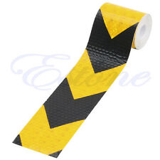 """3M 2""""X118"""" Night Reflective Safety Warning Conspicuity Tape Strip Arrow Sticker"""