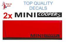 2 x MINI COOPER S  side sill / door / window ect  Sticker   Decal