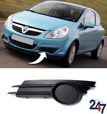 NEW OPEL VAUXHALL CORSA D 2006-2011 FRONT BUMPER LOWER FOG LIGHT COVER LEFT N/S
