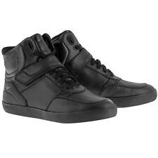 Alpinestars Lunar Drystar Black Waterproof Motorcycle Shoes NEW
