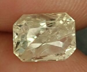 1.97 CT UNHEATED NATURAL CEYLON YELLOW SAPPHIRE GEMSTONE CERTIFIED