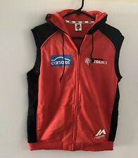 MELBOURNE RENEGADES SLEEVELESS HOODIE BBL Size L(W22in L26in) Zip Up NWOT