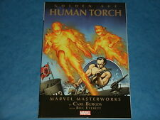 Marvel Masterworks (PB): THE GOLDEN AGE HUMAN TORCH Vol.1 By Burgos & Everett