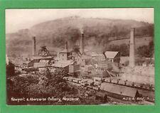 Newport & Abercarne Colliery Collery pc unused MJR Ref H424