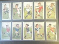 1926  Players FOOTBALLERS rugby football by Rip set 50 cards Tobacco Cigarette