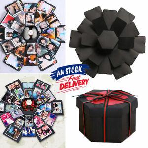 Surprise Explosion Box Love Memory DIY Photo Album Birthday Anniversary Gift AU