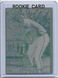 1/1 LARRY BIRD ROOKIE PRINTING PLATE 1994 INDIANA STATE BASEBALL BOSTON CELTICS