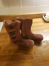 Livie and Luca Girls Tiempo Camel Suede Boots Size 12UK - Barefoot girl's shoes