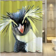 Clearance Rockhopper Panguin Fabric Shower Curtain FREE SHIPPING