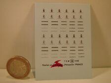 DECALS 1/43 PININFARINA - VIRAGES T30