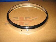 Brand New Chrome Light Headlight Headlamp Rim Trim Ring MGA Austin Healey Bugeye