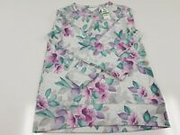 Ideology shirt - Gray/ floral Color - Size XL - Brand NEW