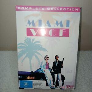 Miami Vice (DVD, 2017, 32-Disc Set)Complete Box set