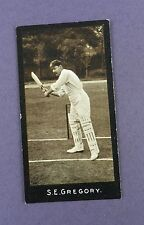More details for f & j.smith -cricketers (1st series) 1912, #41, s.e. gregory, new south wales