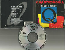 QUADROPHONIA Wave of the future 5TRX w/ RARE REMIXES LIMITED USA CD Single 1991