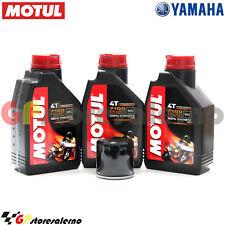 TAGLIANDO OLIO + FILTRO MOTUL 7100 15W50 3L YAMAHA 700 MT 07 MOTO CAGE ABS 2016