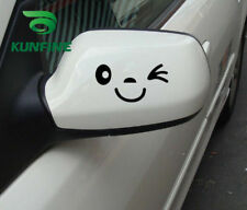 White Car Styling Sticker Smile Face Car Vinyl Decal Decoration Film Tuning Part
