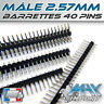 Barrettes connexion 40 pins - Male Secable - Lots multiples, prix dégressif