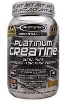 MuscleTech PLATINUM 100% CREATINE Micronized 5g 1.5kg 1500g 300 Serv UNFLAVORED