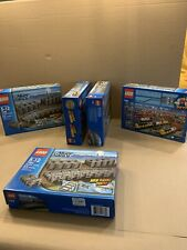 Lego 7499 City Flexible and Straight Train Tracks Retired NIB Sealed