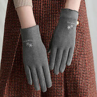 KQ_ Women Winter Touch Screen Gloves Warm Windproof Full Finger Mittens Utility