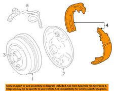 "5003780 GENUINE MOPAR OEM Rear 11"" Brake Drum Shoes"
