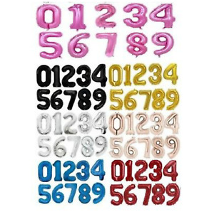 40'' Foil NUMBER 16'' A-Z Letters Decoration Baloons Wedding Anniversary Large