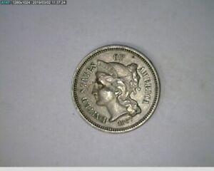 1867 3c Nickel ( 73-293 5M/o )