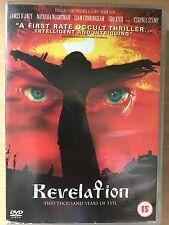 James D'Arcy Terence Stamp REVELATION ~ 2002 British Cult Satanic Horror UK DVD