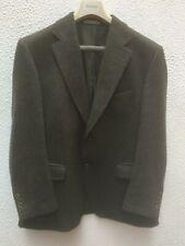 Mans Magee Jacket 42 S Blazer Green Button Tweed Wool Mohair Cashmere Sports VGC