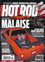 Hot Rod Magazine  April 2021 Outrageous Malaise