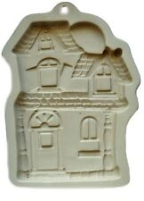 Haunted House Ceramic Stoneware Cookie Mold from Wilton