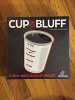 Cup of Bluff: board game blue orange New