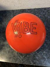 Hammer Orange Vibe  Bowling Ball 15 Lbs