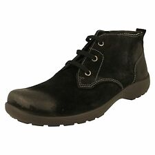 Rohde Mens Lace Up Boots 9952 Black