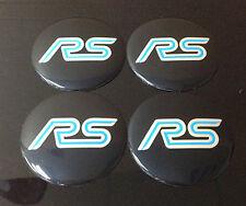 Wheel 56mm Center Cap Sticker Set 4pcs RS Focus Fiesta